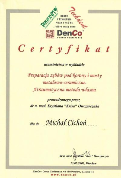 Michał Cichoń 8