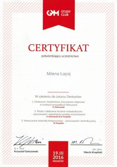 Milena Łapaj 10