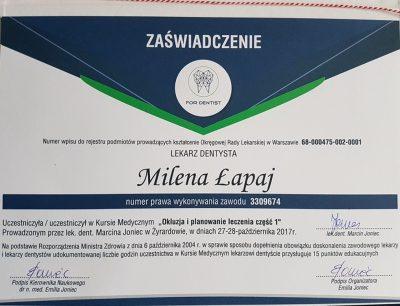 Milena Łapaj 4