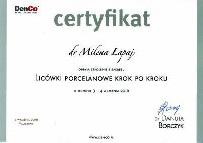 Milena Łapaj 8