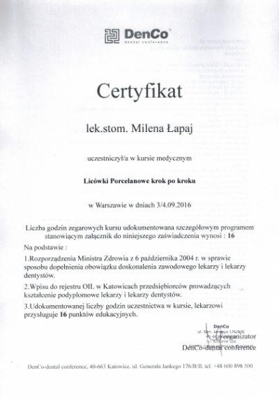 Milena Łapaj 7